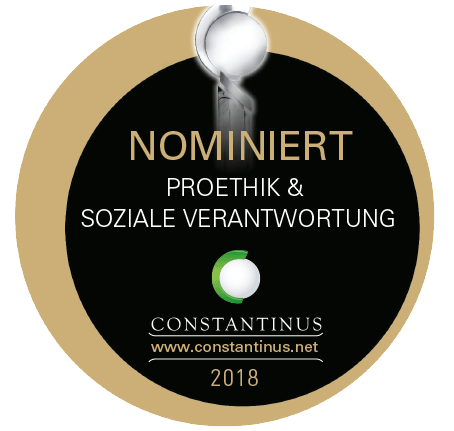 Nominiert beim Constantinus Award 2018!