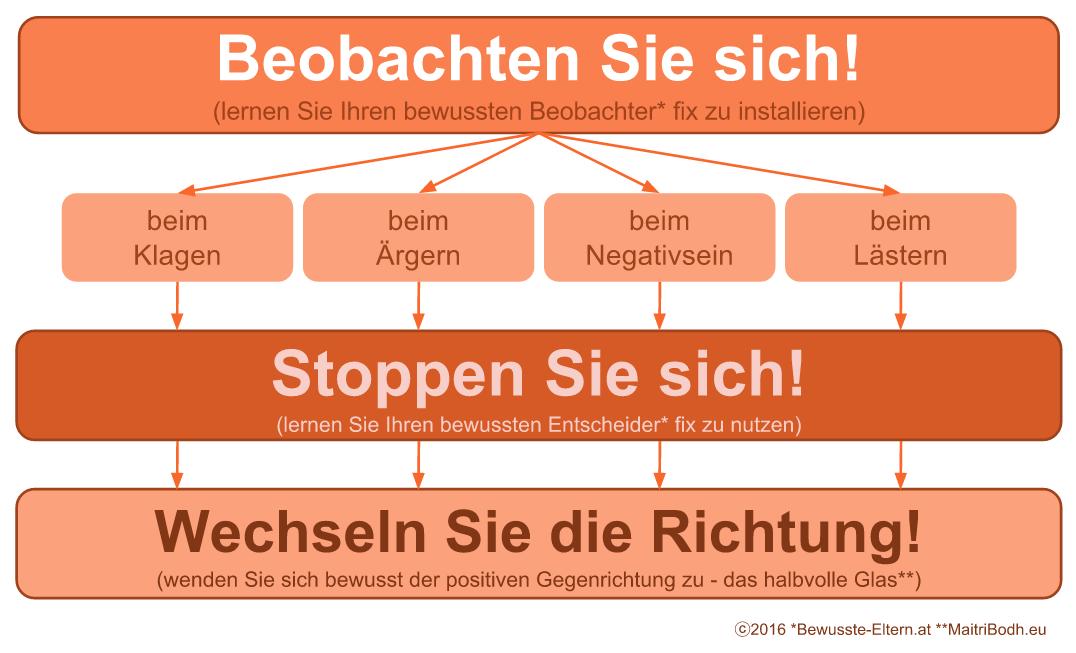 Zum Optimisten in drei Schritten - Die Optimismusstrategie
